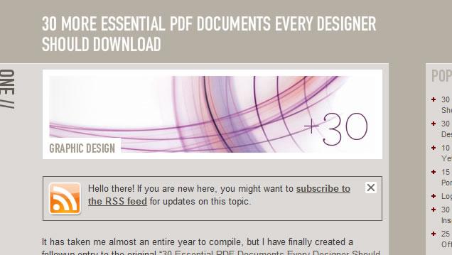 Pdf  for developer