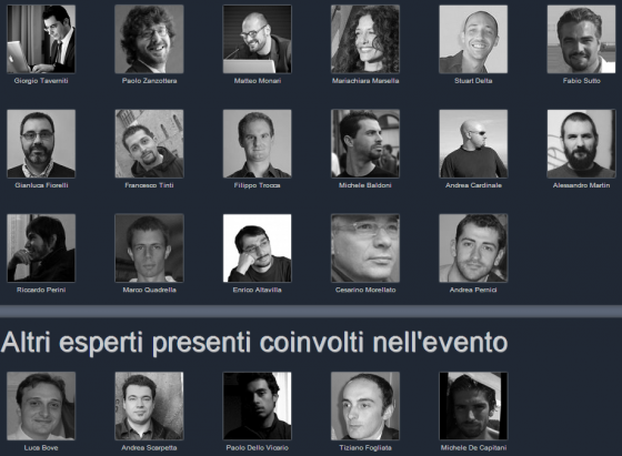 I Relatori Del Convegno GT 2012